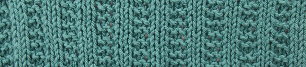 lyseblå klut
