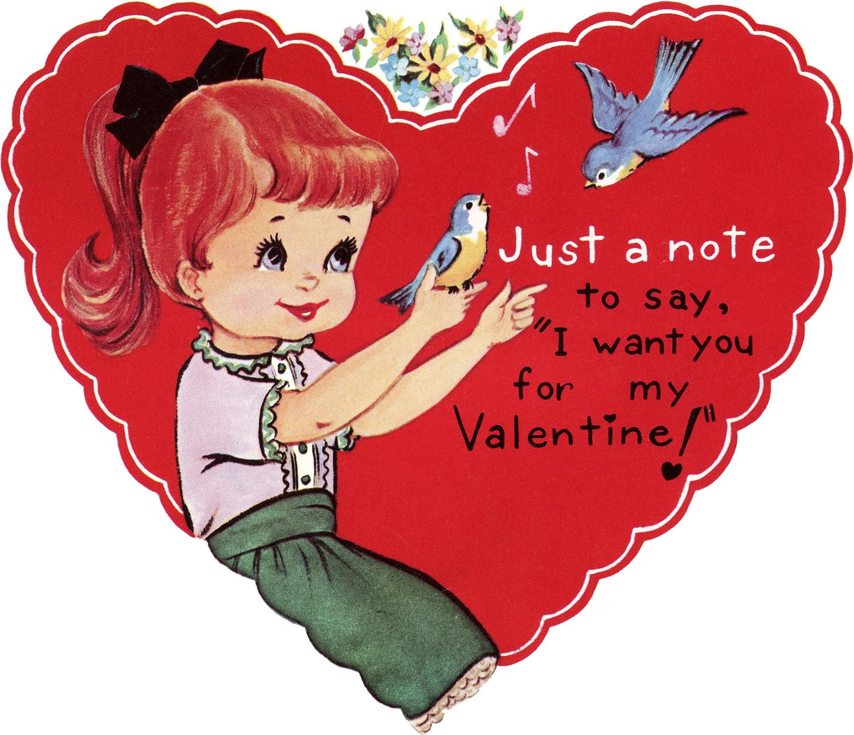 Denne søte tegningen vil gjøre seg bra på et kort eller på valentinsdekorasjoner!