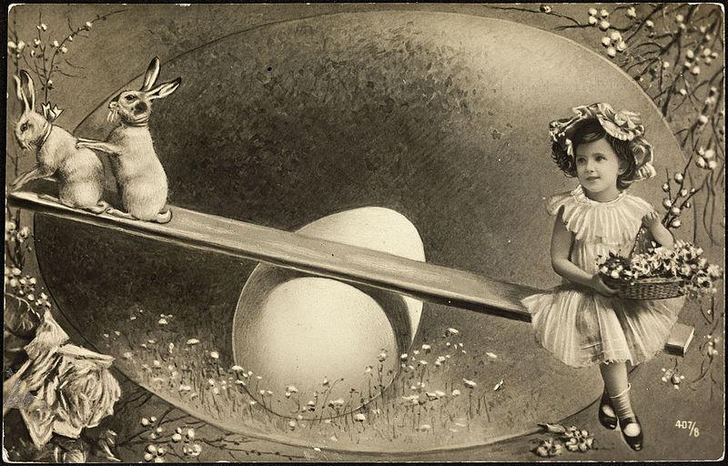 Påskekort_ca._1907_-_Easter_Card_ca._1907_(16635287017)