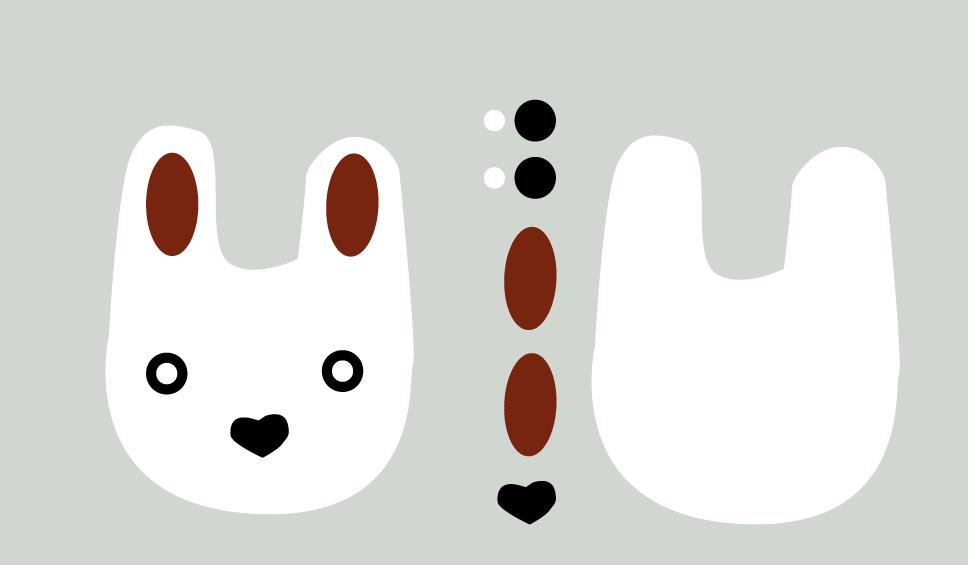 mønster_kanin_skittentøyskurv