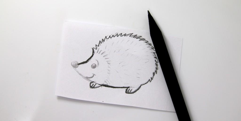 blyantskisse