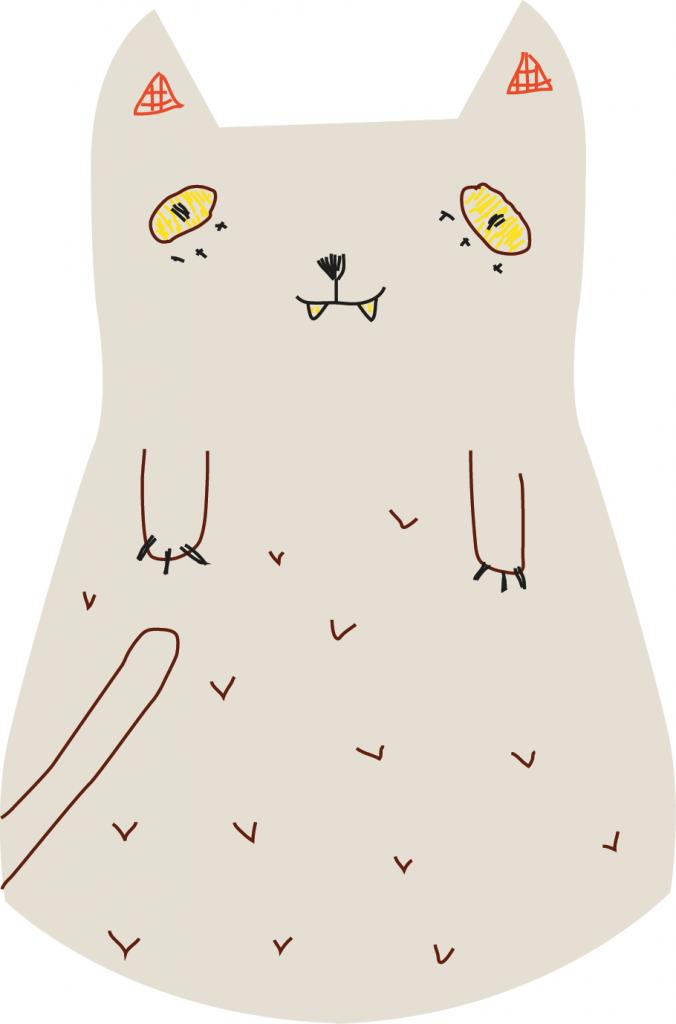katt-mønster